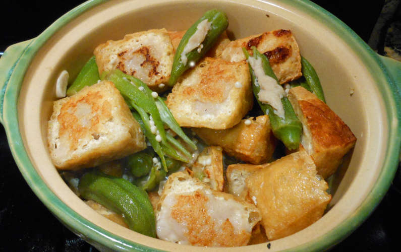 Pot of Cooked Yong Tau Fu Recipe